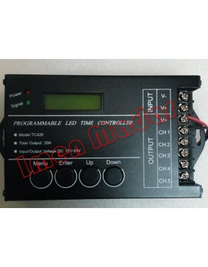 کنترل تایم 5 کانال LED